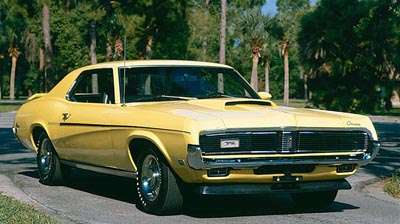 1969 Mercury Cougar Elminator hardtop coupe of the 1969-1970 Cougars