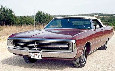 1969 Chrysler 300 convertible.