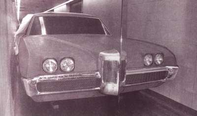 1969 Pontiac Grand Prix clay model