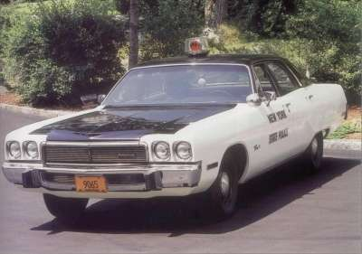 This 1973 Plymouth Fury I was one of many pressed into service by police organizations.