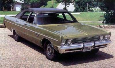 The most popular of all 1969 Plymouths was the Fury III four-door sedan, with 72,747 orders.