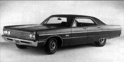 The 1969 Plymouth Fury III four-door hardtop did well in the marketplace, selling 68,818 units.