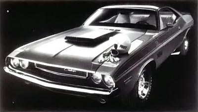 1970 Dodge Challenger front view