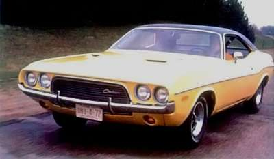1972 Dodge Challenger front view