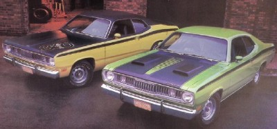 The 1971 Plymouth Duster offered an options package called the Twister.