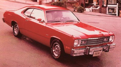 1974 Plymouth Duster 360 was the most successful model year in Duster's history.