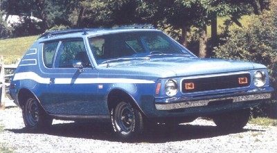 The 1973 AMC Gremlin Levi's model was designed to appeal to young car buyers.