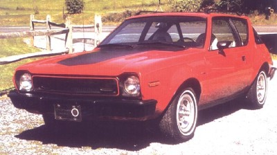 1974 XP Gremlin concept car front view.