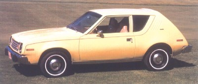 1978 AMC Gremlin automobile side view.