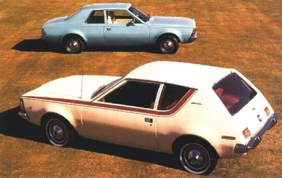 The 1970 AMC Gremlin and 1970 AMC Hornet models.