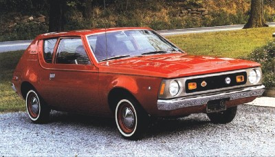 The 1971 AMC Gremlin two-seater had a fixed rear window.