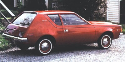 1971 AMC Gremlin side view.
