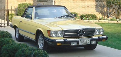 1981 Mercedes-Benz 380SL Convertible of the 1970-1990 SL (R107) models