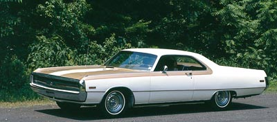 The 1970 Chrysler 300 Hurst, specially produced and built by Hurst Performance Products.