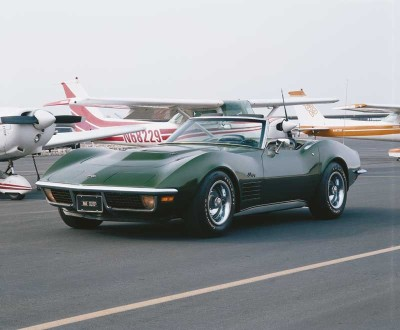 Total sales for the 1970 Corvette were down, reflecting a production start-up delayed to January 1970.