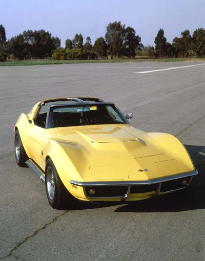 Corvette's 427 big-block became a 454 for 1970. The LS5 version delivered 390 bhp for just $290 extra.