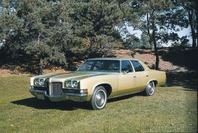 The 1971 Pontiac was available in a number of different models.