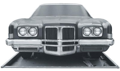 The 1972 Pontiac posted impressive sales gains over the previous model year.