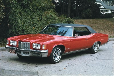 The 1972 Pontiac epitomized the large cars in this era of Pontiac history.