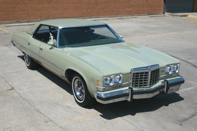 Sales levels dropped for the 1974 Pontiac.