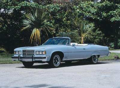 The 1975 Pontiac was the last year for the full-size convertible.