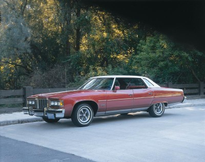 The 1975 Pontiac boasted major changes, but it wasn't enough to save the big cars.
