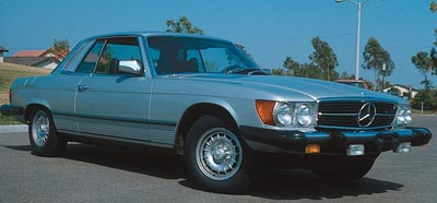 1971-1971 Mercedes-Benz SLC coupe