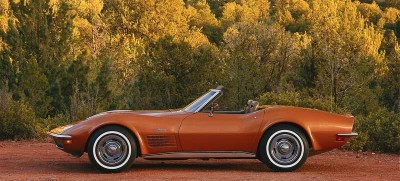 An anti-theft system became standard on the 1972 Corvette due to the car's high
