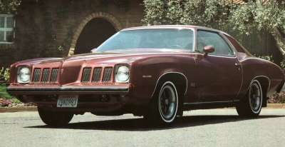 The coupe and sedan were the only two body styles produced for the 1973 Pontiac Grand Am.