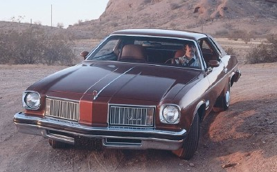 Power steering became standard on all 1974 Oldsmobiles, including this 1974 Oldsmobile Cutlass.