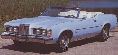 1973 Mercury Cougar XR-7