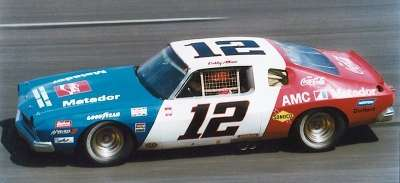 Bobby Allison drove the Roger Penske AMC Matador to a surprising victory in the Nov. 24, 1974 season finale.