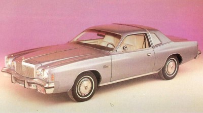 The 1977 Cordoba had a Crown roof with opera windows and an illuminated band of light across the roof.