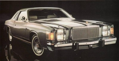 The 1978 Cordoba had stacked dual headlights flanking mildly revised <span class=