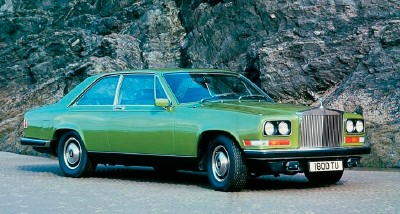 The 1975-1986 Rolls-Royce Camargue coupe, part of the 1975-1986 Rolls-Royce Camargue series