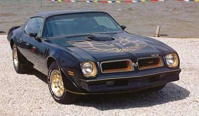 1976 Pontiac Limited Edition Trans Am coupe, part of Pontiac's limited edition collection of cars