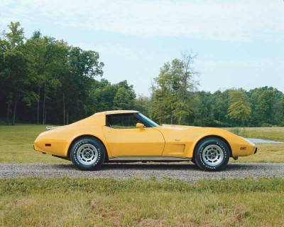 Sales set another new record for the 1977 model-year Corvette at 49,213 -- amazing for a decade-old design.