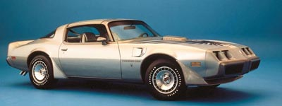 Pontiac 10th Anniversary Trans Am side view