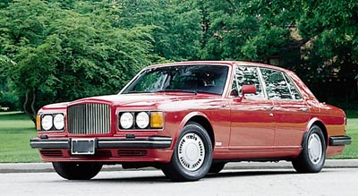 This 1989 Bentley Turbo R sedan was part of the 1982-91 Bently Mulsanne Turbo & Turbo R series.