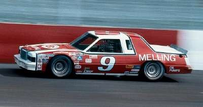 Harry Melling bought the #9 Ford from the Elliott family at the beginning of the 1982 NASCAR season.