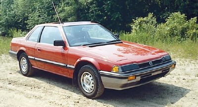 The 1983 Honda Prelude coupe, part of the 1983-1987 Honda Prelude line of collectible cars.
