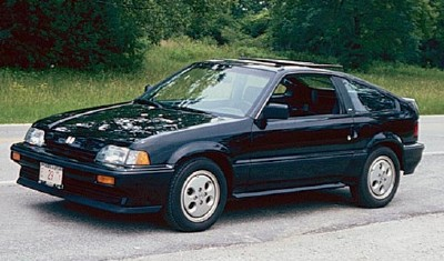 1984 Honda Civic CRX hatchback coupe, Motor Trend's 1984 Import Car of the Year