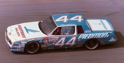 Terry Labonte drove Billy Hagan's #44 Piedmont Airlines Chevrolet to the 1984 NASCAR Winston Cup Grand National champion­ship.