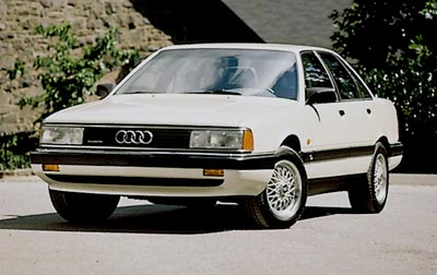 This 1991 Audi 200 Quattro sedan is part of the 1985-91 Audi Turbo Quattro/200 Quattro series.