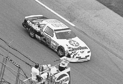 Davey Allison motored his #28 Robert Yates Racing/Havoline Ford to victory in the Pepsi 400.