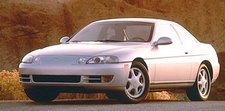 1995 Lexus SC300 coupe, part of the 1999-2000 Lexus SC 300/400 line of collectible cars