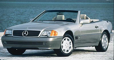 1993 Mercedes-Benz 600SL convertible, one of the 1991-2000 SLs