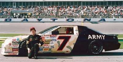 NASCAR driver Alan Kulwicki was sponsored by the Army for the 1991 Daytona 500, a NASCAR Winston Cup series event.