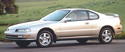 The 1995 Honda Prelude SE coupe, part of the 1992-1995 Honda Prelude line of cars.
