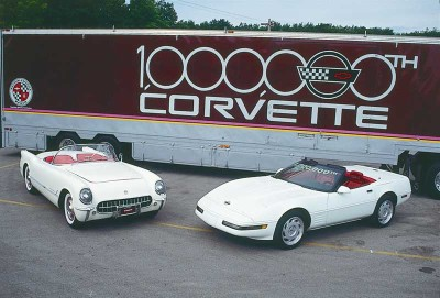The one-millionth Corvette was produced on July 2, 1992.
